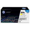 HP 309A (Q2672A) Yellow Original LaserJet Toner Cartridge - Laser - High Yield - 4000 Page - 1 Each HEWQ2672A