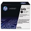 HP 64X, (CC364X) High-Yield Black Original LaserJet Toner Cartridge