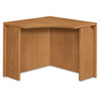 "<strong>HON®</strong><br />10500 Series Curved Corner Workstation, 36"" x 36"" x 29.5"", Harvest"