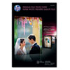 HP Premium Plus Photo Paper, 75 lbs., High-Gloss, 11 x 17, 25 Sheets/Pack HEWCV065A