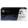 HP 49A, (Q5949A) Black Original LaserJet Toner Cartridge