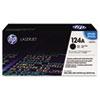 <strong>HP</strong><br />HP 124A, (Q6000A) Black Original LaserJet Toner Cartridge