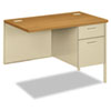 <strong>HON®</strong><br />Metro Classic Series Workstation Return, Right, 42w x 24d, Harvest/Putty