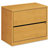 10500 SERIES TWO-DRAWER LATERAL FILE, 36W X 20D X 29.5H, HARVEST