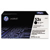 <strong>HP</strong><br />HP 53X, (Q7553X) High-Yield Black Original LaserJet Toner Cartridge