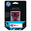 HP HP 02, (C8772WN) Magenta Original Ink Cartridge HEWC8772WN