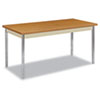 <strong>HON®</strong><br />Utility Table, Rectangular, 60w x 30d x 29h, Harvest/Putty