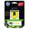 HP HP 02XL, (C8732WN) High Yield Yellow Original Ink Cartridge HEWC8732WN
