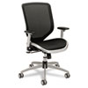 HON® Boda Series High-Back Work Chair, Mesh Seat and Back, Black HONMH02MST1C