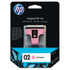 HP HP 02, (C8775WN) Light Magenta Original Ink Cartridge HEWC8775WN