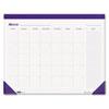 House of Doolittle™ Nondated Desk Pad Calendar, 22 x 17, Blue HOD464