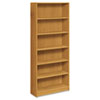 HON® 1890 Series Bookcase, Six Shelf, 36w x 11 1/2d x 84h, Harvest HON1897C
