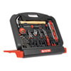 Great Neck® 48-Tool Set in Blow-Molded Case, Black - GN48