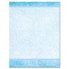 Geographics® Design Suite Paper, 24 lb, Aqua Paisley, 8 1/2 x 11, 100/Pack GEO46889S