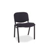 Alera® Alera Continental Series Stacking Chairs, Black Fabric Upholstery, 4/Carton ALESC67FA10B