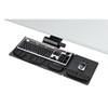 Fellowes® Professional Premier Series Adjustable Keyboard Tray, 19w x 10-5/8d, Black FEL8036001