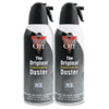 Dust-Off® Disposable Compressed Gas Duster, 10 oz Cans, 2/Pack FALDSXLPW