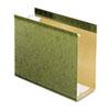 "Pendaflex® Reinforced 4"" Extra Capacity Hanging Folders, Letter, Standard Green, 25/Box PFX4152X4"