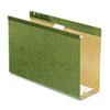 "Pendaflex® Reinforced 4"" Extra Capacity Hanging Folders, Legal, Standard Green, 25/Box PFX4153X4"