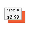 Two-Line Pricemarker Labels, 5/8 x 13/16, White, 1000/Roll, 3 Rolls/Box