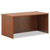 Basyx by HON BL Laminate Series Rectangular Desk Shell, 60w x 30w x 29h, Medium Cherry BSXBL2103A1A1