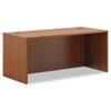 Basyx by HON BL Laminate Series Rectangular Desk Shell, 66w x 30w x 29h, Medium Cherry BSXBL2102A1A1