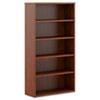 Basyx by HON BL Laminate Series Five Shelf Bookcase, 32w x 13 13/16d x 65 3/8h, Medium Cherry BSXBL2194A1A1