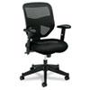 Basyx by HON VL531 Series High-Back Work Chair, Mesh Back, Padded Mesh Seat, Black BSXVL531MM10