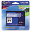 """<strong>Brother P-Touch®</strong><br />TZe Standard Adhesive Laminated Labeling Tape, 0.7"""" x 26.2 ft, White on Clear"""