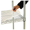 Shelf Liners For Wire Shelving, Clear Plastic, 36w x 18d, 4/Pack