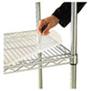 <strong>Alera®</strong><br />Shelf Liners For Wire Shelving, Clear Plastic, 36w x 24d, 4/Pack