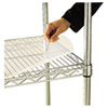 <strong>Alera®</strong><br />Shelf Liners For Wire Shelving, Clear Plastic, 48w x 18d, 4/Pack
