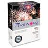 Boise® FIREWORX Colored Paper, 20lb, 8-1/2 x 11, Turbulent Turquoise, 500 Sheets/Ream CASMP2201TT