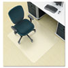 deflect-o® EnvironMat Recycled Anytime Use Chair Mat for Med Pile Carpet, 36 x 48, Clear DEFCM1K142PET