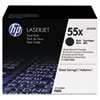 <strong>HP</strong><br />HP 55X, (CE255X-D) 2-Pack High-Yield Black Original LaserJet Toner Cartridges