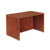 "<strong>Alera®</strong><br />Alera Valencia Series Straight Front Desk Shell, 47.25"" x 29.5"" x 29.63"", Medium Cherry"