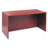 Alera® Alera Valencia Series Straight Desk Shell, 59 1/8 x 29 1/2 x 29 1/2, Med Cherry ALEVA216030MC