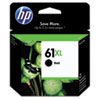 HP 61XL, (CH563WN) High-Yield Black Original Ink Cartridge