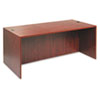 "<strong>Alera®</strong><br />Alera Valencia Series Straight Front Desk Shell, 71"" x 35.5"" x 29.63"", Medium Cherry"
