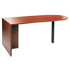 "<strong>Alera®</strong><br />Alera Valencia Series D-Top Desk, 71"" x 35.5"" x 29.63"", Medium Cherry"