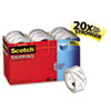 "Scotch® 3850 Heavy-Duty Packaging Tape Cabinet Pack, 1.88"" x 54.6yds, 3"" Core, 18/Pack MMM385018CP"