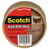 """Scotch® 3750 Commercial Grade Packaging Tape, 1.88"""" x 54.6yds, 3"""" Core, Tan MMM3750T"""