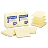 Highland™ Self-Stick Pop-Up Notes, 3 x 3, Yellow, 100-Sheet, 12/PK MMM6549PUY
