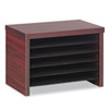 Alera Valencia Under Counter File Organizer Shelf, 15 3/4w x 10d x 11h, Mahogany