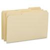 Smead® File Folders, 1/3 Cut Reinforced Tab, Legal, Manila, 100/Box SMD15434