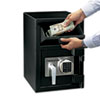 <strong>Sentry® Safe</strong><br />Digital Depository Safe, Large, 0.94 cu ft, 14w x 15.6d x 20h, Black