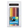 Prismacolor® Scholar Colored Pencil Set, 2B. 24 Assorted Colors/Set SAN92805