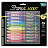 Sharpie® Accent Liquid Pen Style Highlighter, Chisel Tip, Assorted, 10/Set SAN24415PP