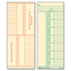 TOPS® Time Card for Cincinnati, Named Days, Two-Sided, 3 3/8 x 8 1/4, 500/Box TOP1260
