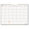 AT-A-GLANCE® WallMates Self-Adhesive Dry Erase Monthly Planning Surface, 24 x 18 AAGAW502028